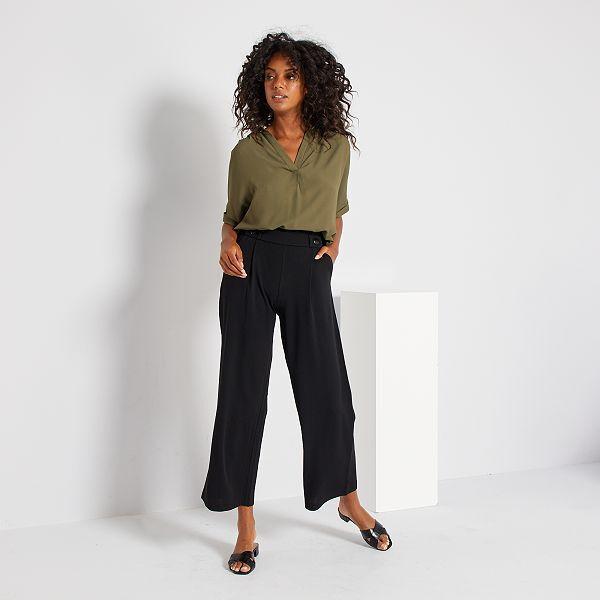Pantalones Anchos Mujer Talla 34 A 48 Talla Xl Kiabi