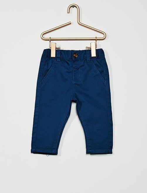 Pantalón chino                                                                                                     azul oscuro