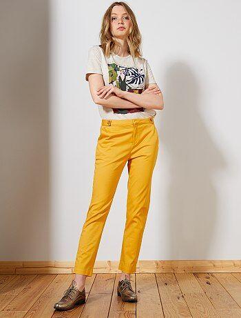 b6224def98 Pantalón chino con botones - Kiabi