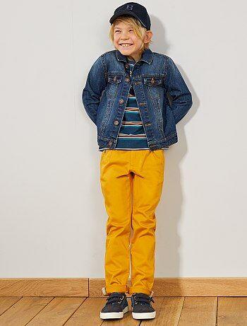 afe74b8f3a Pantalón chino con cintura en contraste - Kiabi