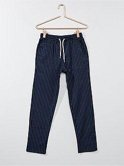 Pantalones - Pantalón chino de algodón - Kiabi