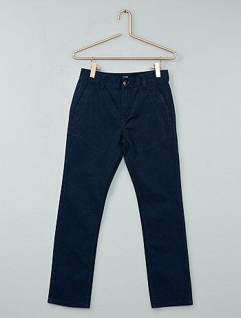 Pantalón chino de sarga - Kiabi