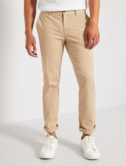 Pantalón chino L30                                         BEIGE