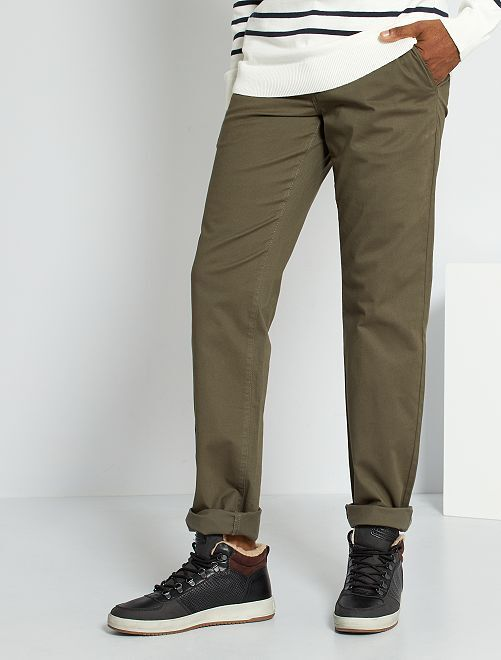 Pantalón chino L30                                         KAKI