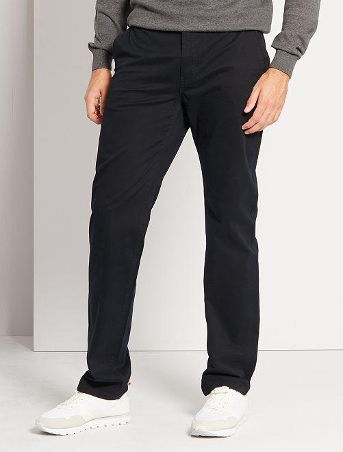 Pantalón chino L36 +1,90 m                                                                             negro