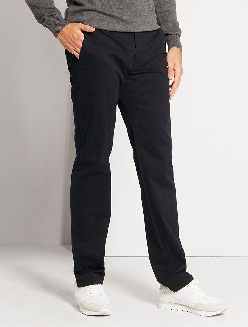 Pantalón chino L38 +1,90 m                                                                             negro