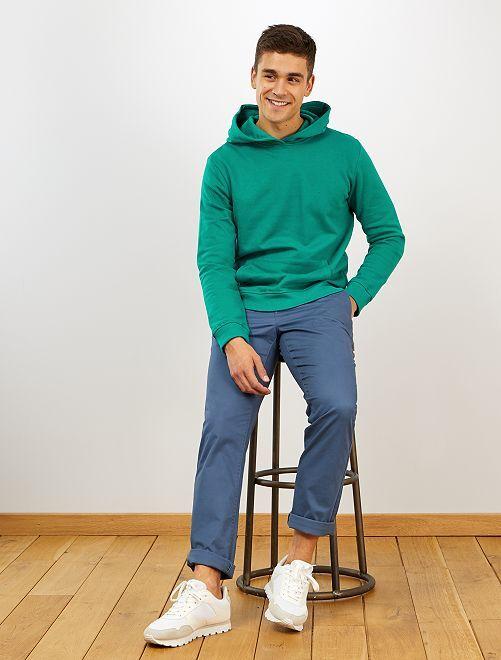 Pantalón chino regular                                 AZUL
