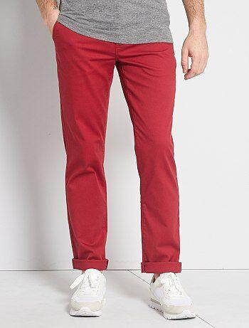 Pantalones Casuales Hombre Rosa Kiabi