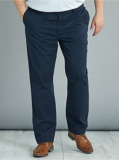 Pantalones - Pantalón chino regular de sarga - Kiabi