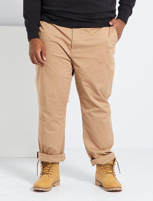 Pantalón chino regular L34                                                                                         BEIGE