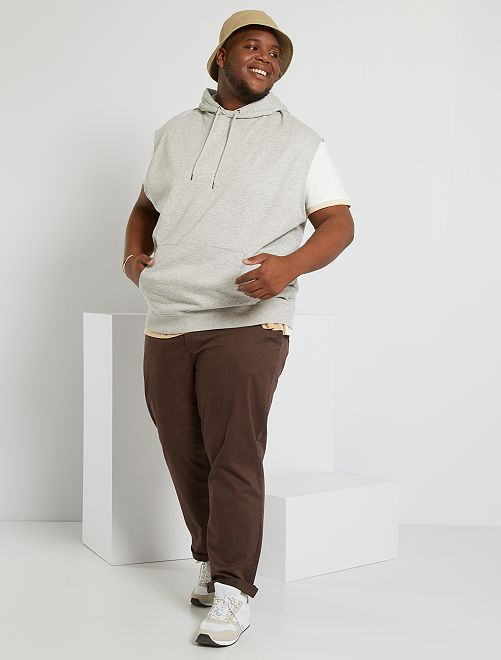 Pantalón chino regular L34                                                                                         marrón oscuro