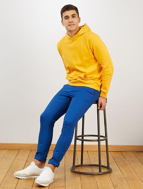 Pantalón chino skinny                                                                                                                 azul