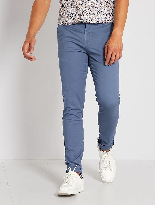 Pantalón chino skinny L34                                         AZUL