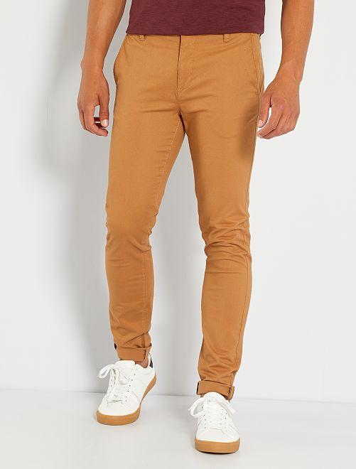 Pantalón chino skinny L34                                                                             BEIGE
