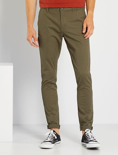 Pantalón chino skinny L34                                                                 KAKI