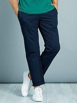 Pantalones casual - Pantalón chino slim con pinzas