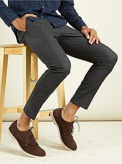Hombre Pantalón chino slim de algodón puro