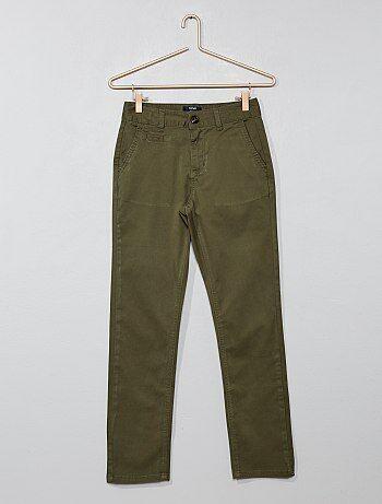51f14798085 Niño 10-18 años - Pantalón chino slim - Kiabi