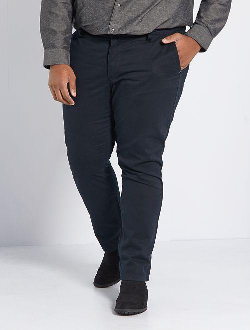 Pantalón chino slim L30                                                                                                                 negro
