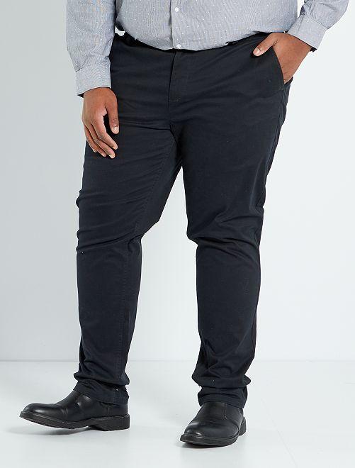 Pantalón chino slim L34                                                                                                                             negro