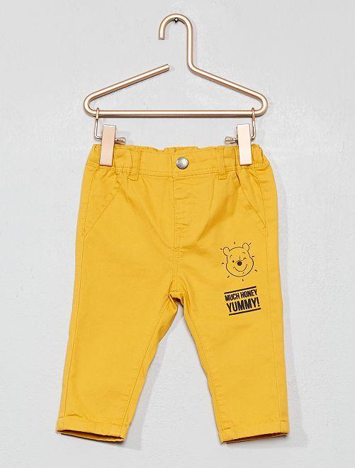 Pantalón chino 'Winnie'                             AMARILLO Bebé niño