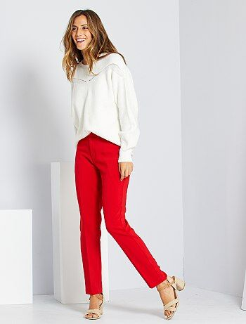 Pantalones Mujer Talla 34 A 48 Talla 46 Kiabi