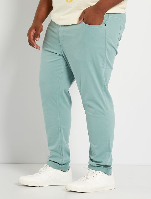 Pantalón con 5 bolsillos fitted L34                                                                 azul