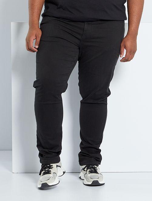 Pantalón con 5 bolsillos fitted L34                                                                                         negro
