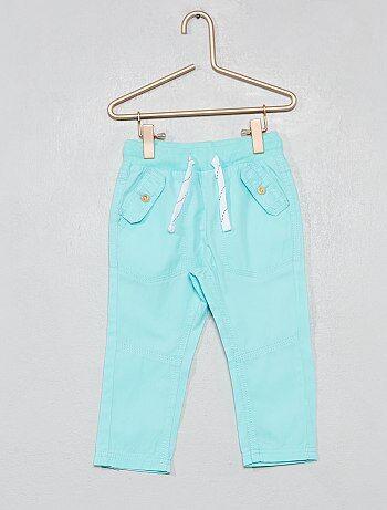 5298e8962 Niño 0-36 meses - Pantalón con bolsillos abotonados - Kiabi