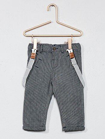 Niño 0-36 meses - Pantalón con forro de algodón - Kiabi