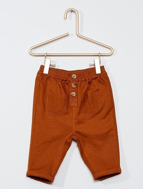 Pantalón con forro 'eco-concepción'                                         NARANJA