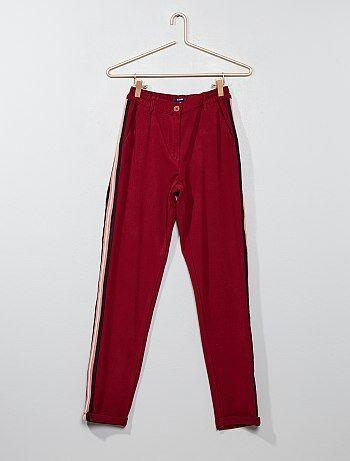 Pantalón con pinzas - Kiabi