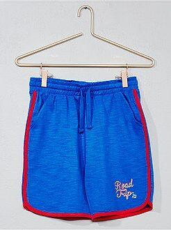 Bermudas, shorts - Pantalón corto con bandas a contraste - Kiabi