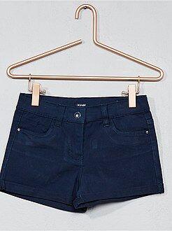 Pantalón corto de algodón elástico - Kiabi