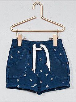 Shorts, bermudas - Pantalón corto de dos tejidos - Kiabi