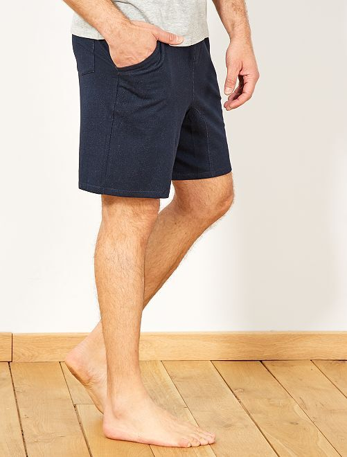 5e9368d92b Pantalón corto de pijama de punto Hombre - GRIS - Kiabi - 10