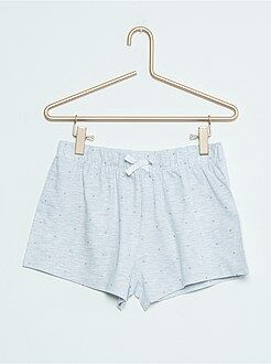 Niña 10-18 años Pantalón corto de pijama estampado