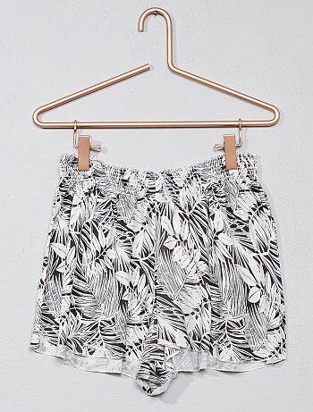 Niña 10-18 años - Pantalón corto de pijama - Kiabi