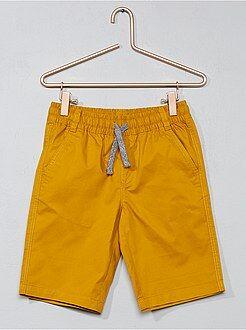 Pantalón corto de sarga de algodón - Kiabi