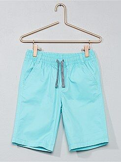 Bermudas, shorts - Pantalón corto de sarga de algodón - Kiabi
