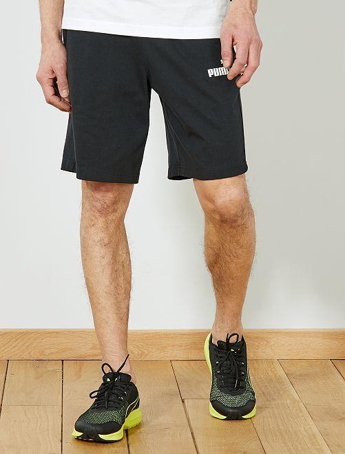 Pantalón corto deportivo 'Puma'                                         NEGRO Hombre