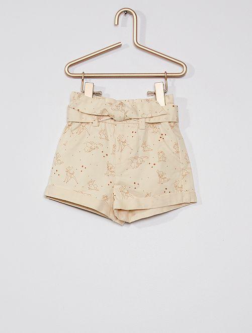 Pantalón corto 'Disney Baby'                                         BLANCO