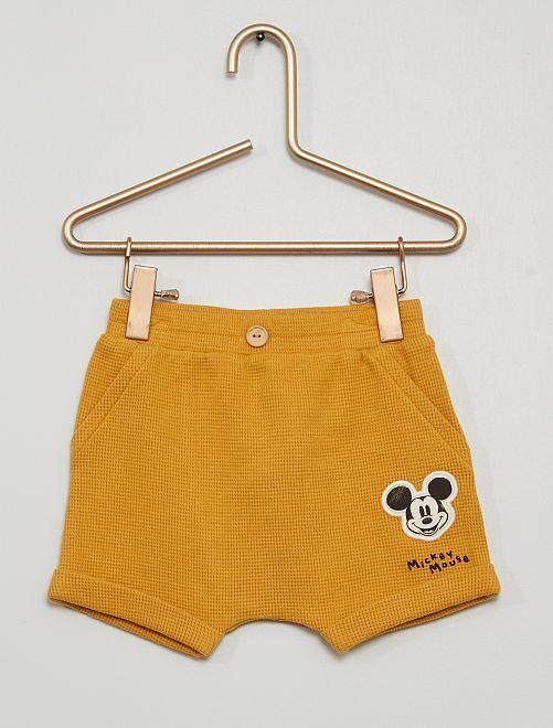 Pantalón corto 'Mickey'                             AMARILLO