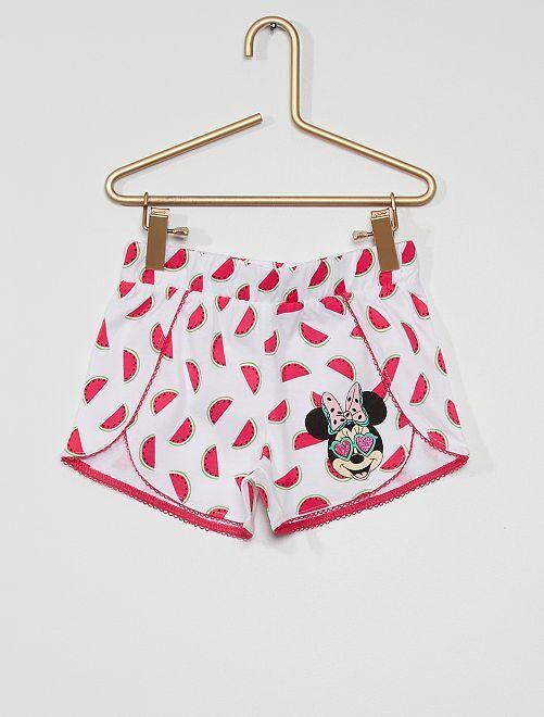 Pantalón corto 'Minnie'                                         blanco