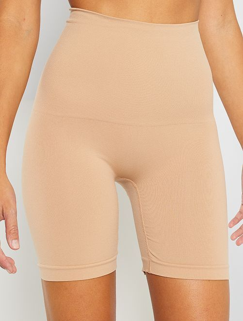 Pantalón corto moldeador 'Bye Bra'                                         beige