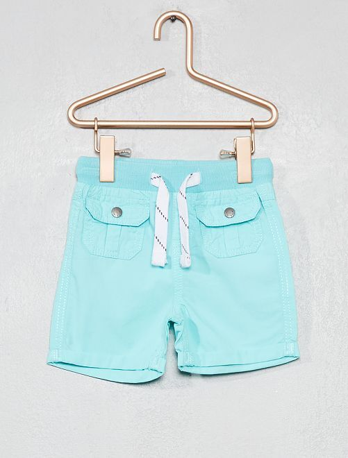 Pantalón corto multibolsillos                                                                             AZUL Bebé niño