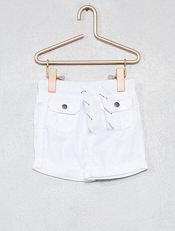 b4fa6830f Pantalones cortos y bermudas Bebé | blanco | Kiabi