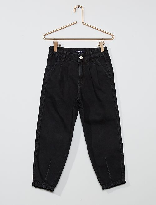 Pantalón de algodón puro                                         negro