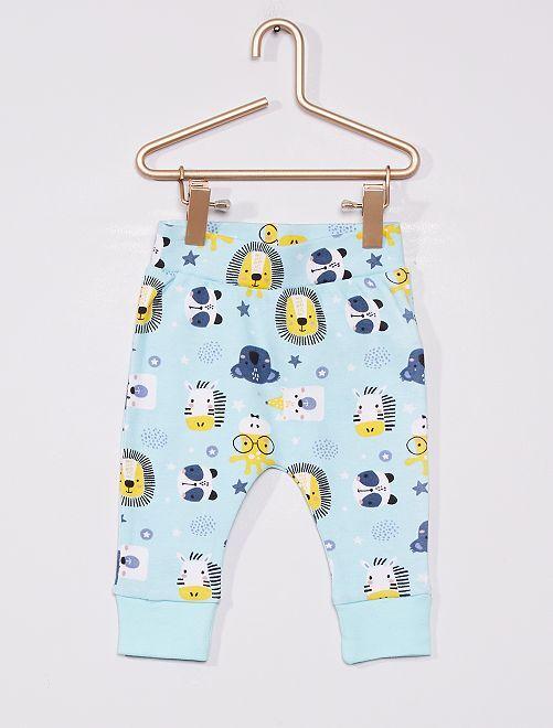 Pantalón de 'animales'                             azul