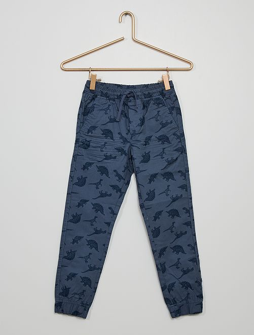 Pantalón de 'camuflaje'                                                                                         AZUL